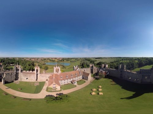 Framlingham Castle Aerial 360 Video Still