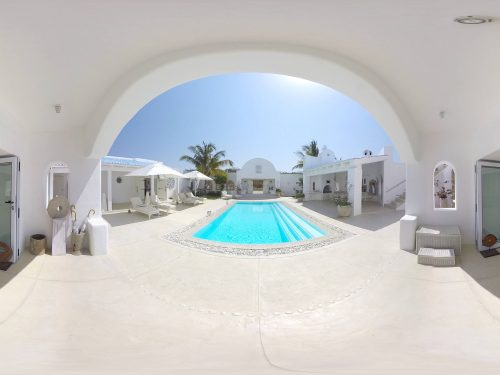 Pool Santorini