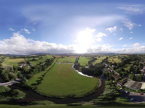 Lion Aerial 360 Panorama